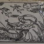 Grabados de un libro hallado en el palacio (S. XVII)