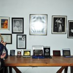 Trofeos y recuerdos  de l tenor Ignacio Encinas, natural de Grajal