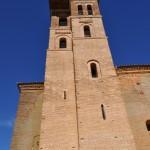 Torre de la iglesia de San Miguel. Tiene cinco esquinas y le falta una para cuatro
