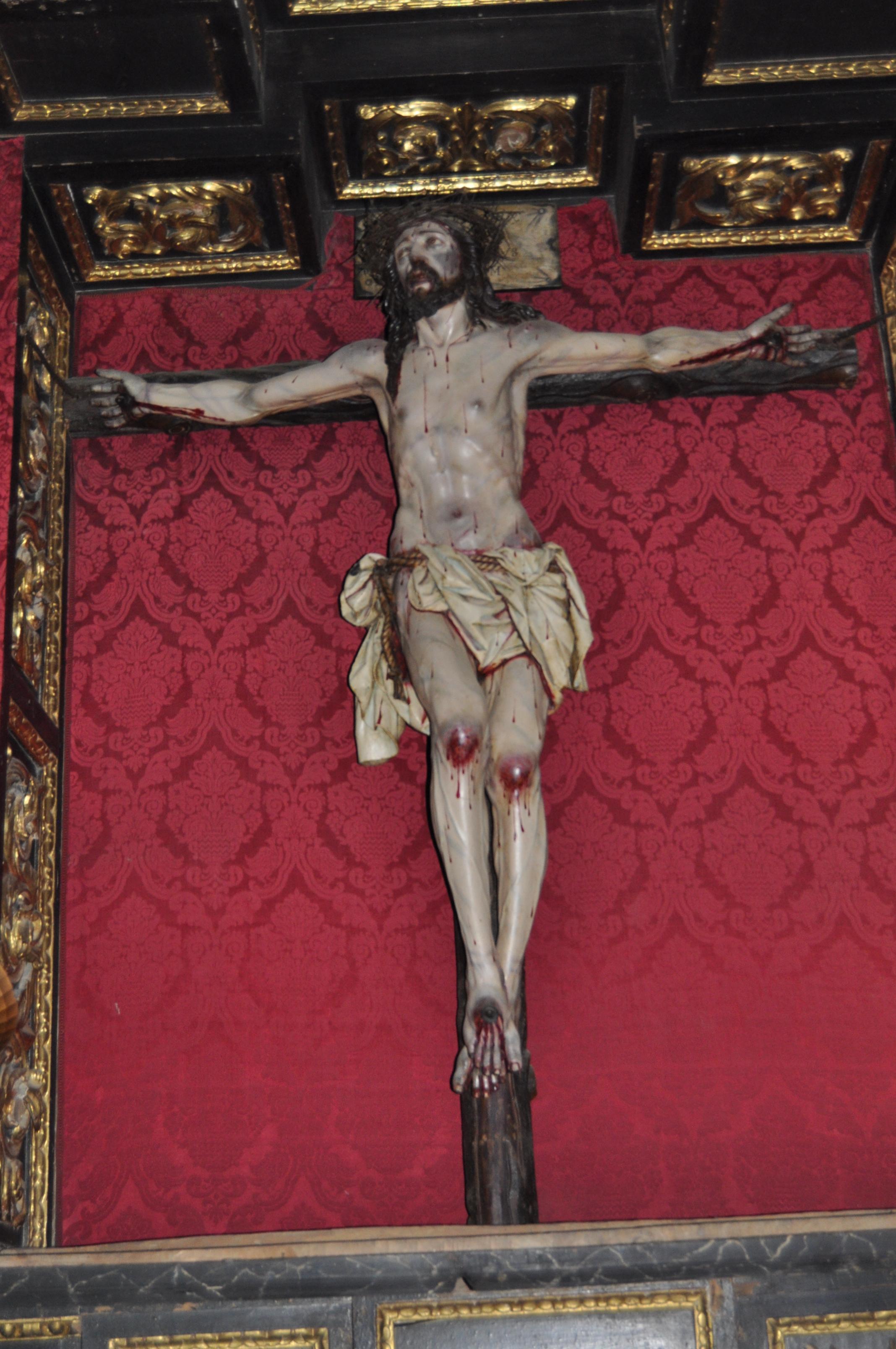 Cristo iglesia San Miguel