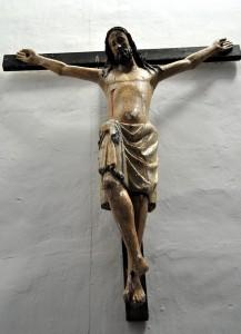 Iglesia de San Lorenzo. Cristo gótico (s. XIV)
