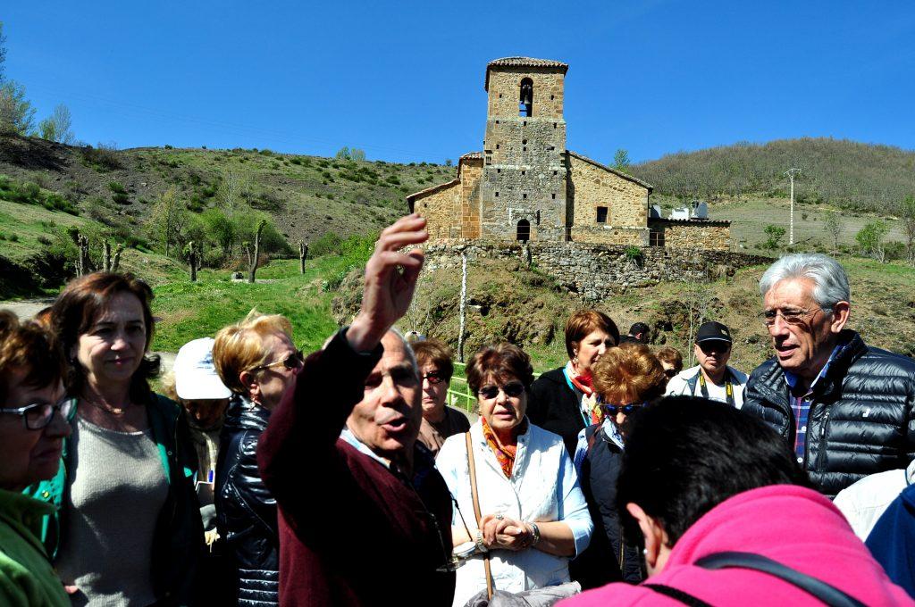 Ramón Gutiérrez relata la historia de la iglesia románica de San Martín de Valdetuéjar