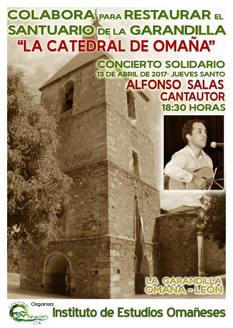La Garandilla. Concierto pro Catedral de Omaña 2017