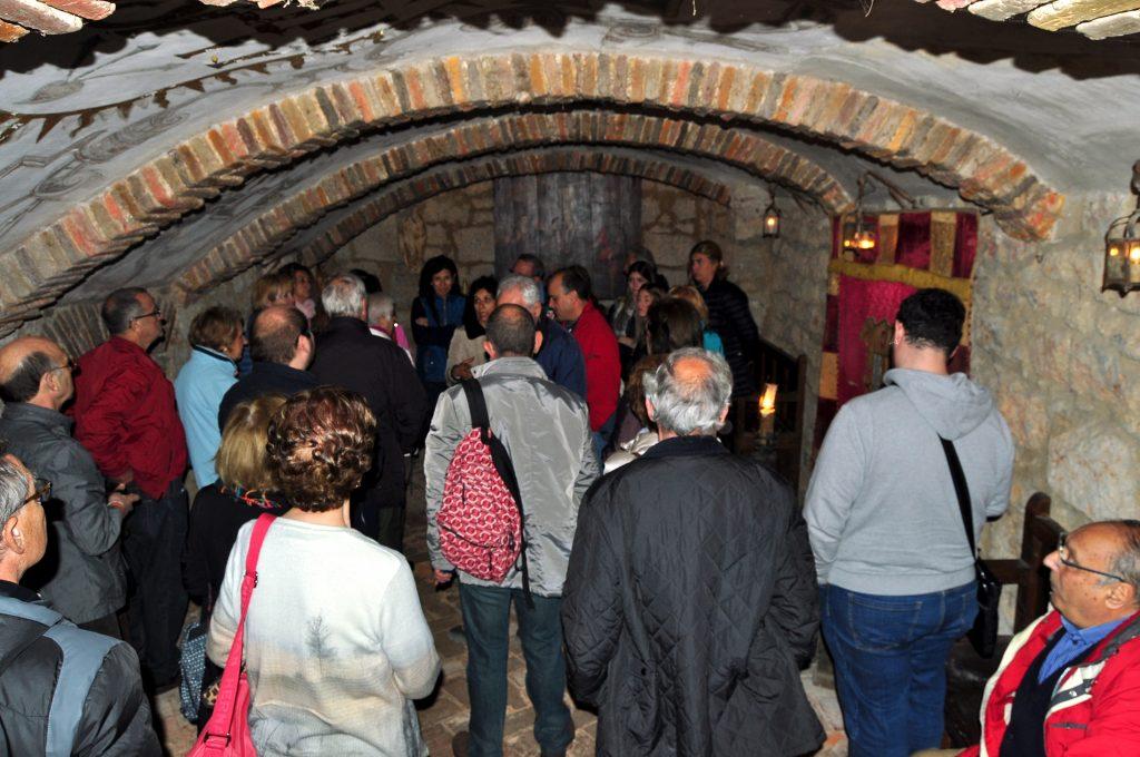 Residencia Jesuitas. Cripta de Luis de Quijada y Magdalena de Ulloa, fundadores del monasterio  y educadores de Jeromín.