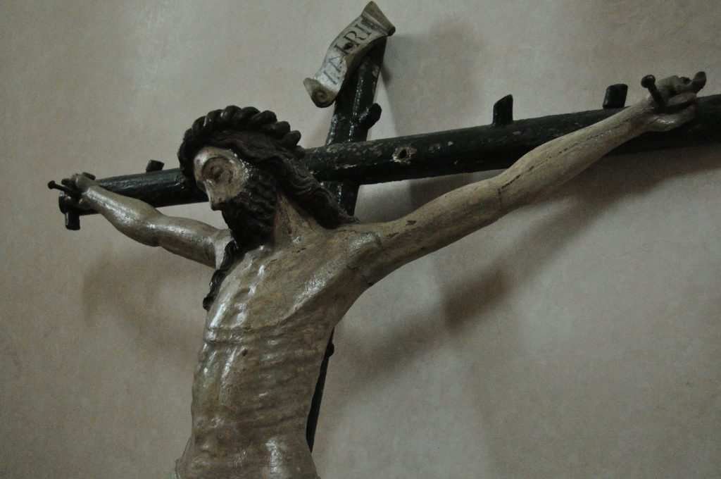 San Cebrián de Mazote. Cristo gótico.