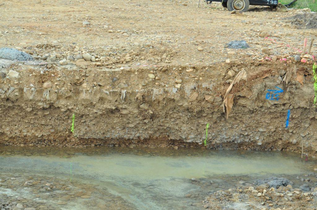 Cada zanja que se empieza, una destrucción arqueológica a la vista