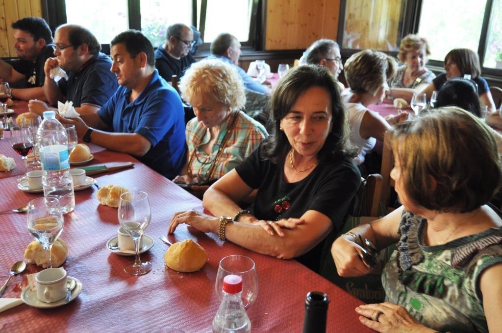 """Comida, en el restaurante """"Ruta Templaria"""" de Truchas (David G. López)"""