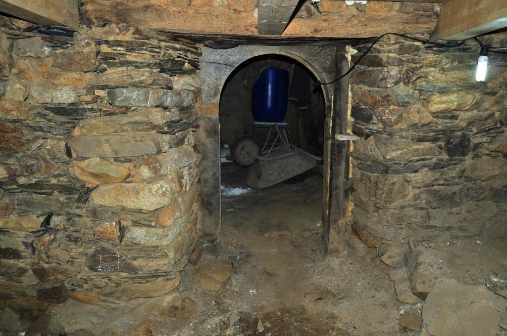 Obras de adecuación del Museo de las Tradiciones de Cabrera, en Valdavido. (David G. López)