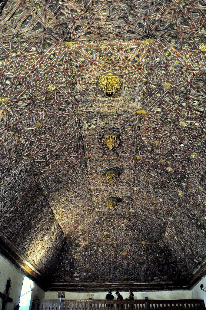 Artesonado mudéjar de Santa Colomba de la Vega (BIC desde 1943).
