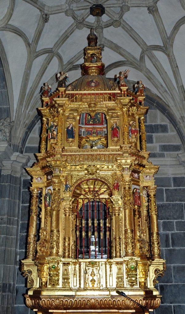 Tabernáculo del Lignum Crucis.