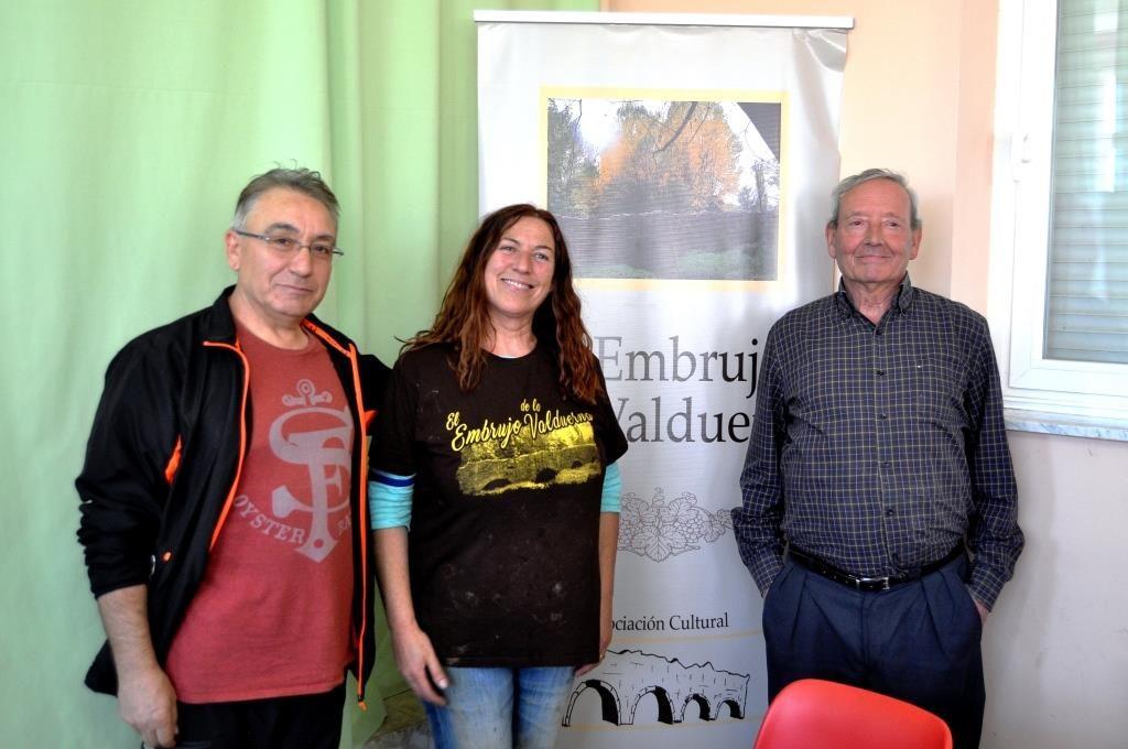 Los presidentes de las tres asociaciones participantes.