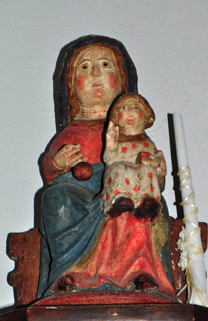 Virgen románico-gótica de Senra.