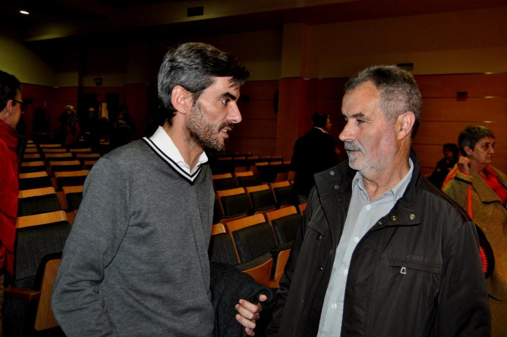 Los presidentes de Valdefrancos y san Clemente