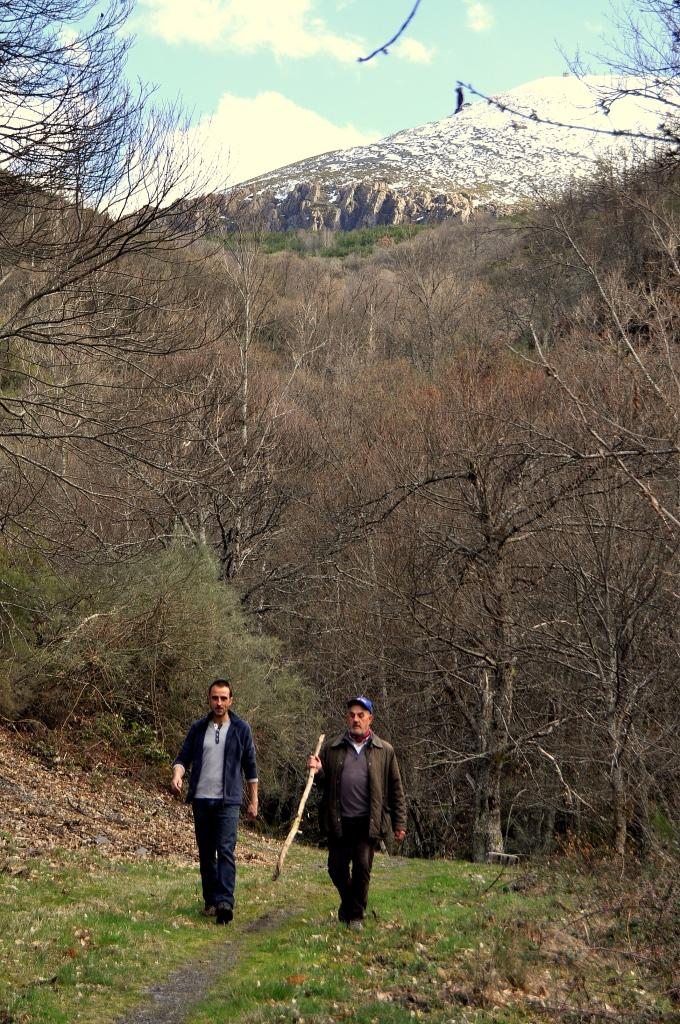 Valle de San Adrián, con la Aquiana (1.840 m.) al fondo,