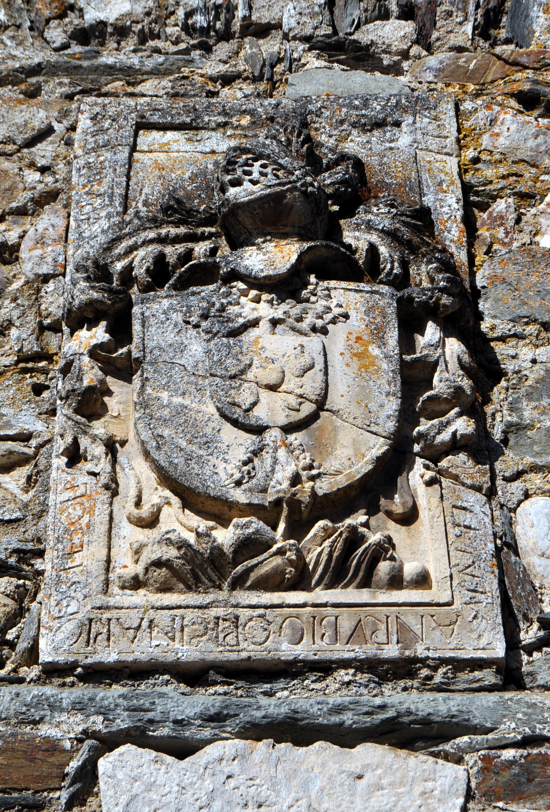Escudo de los Rubio, fundadores de la ermita del Nazareno.