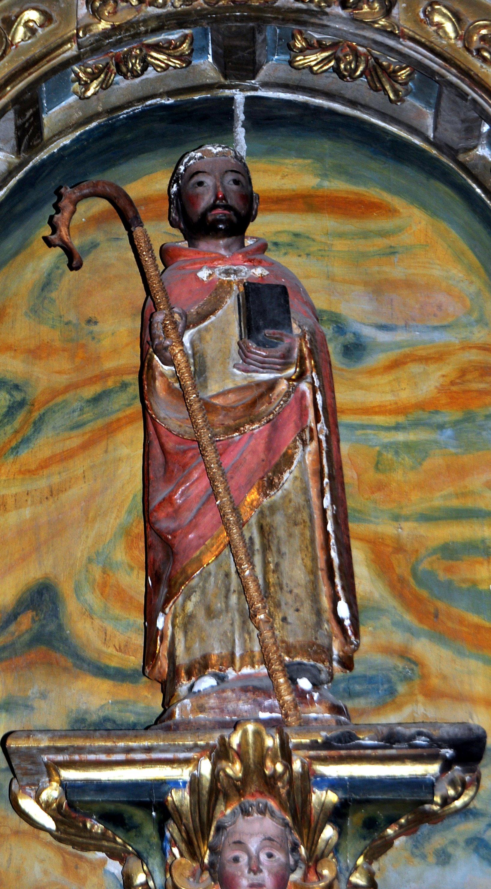 Noceda del Bierzo. Puede ser San Bloas, pero muchos le llaman Santiago (S. XV)