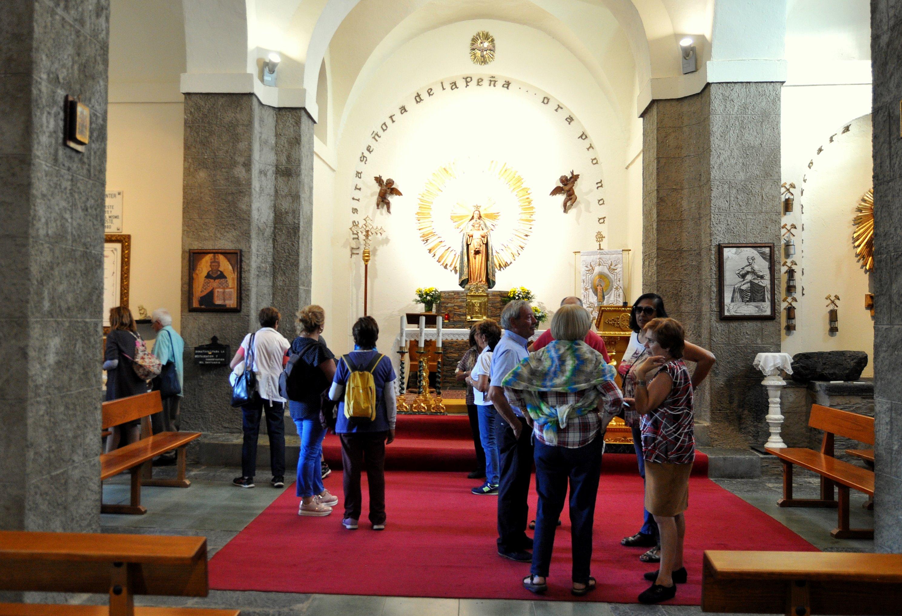 Santuario de la Virgen de la Peña.