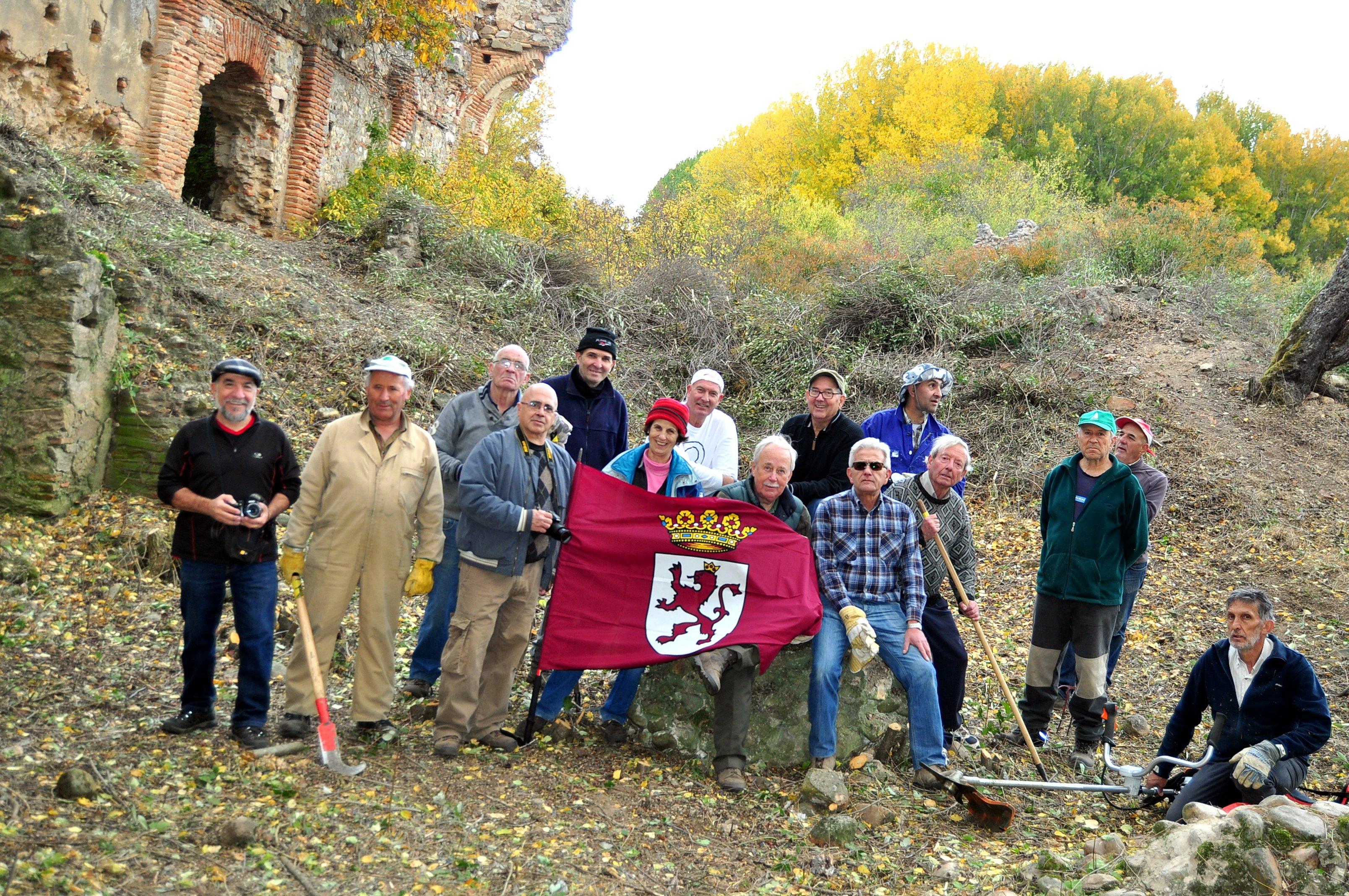 Voluntarios de Promonumenta.