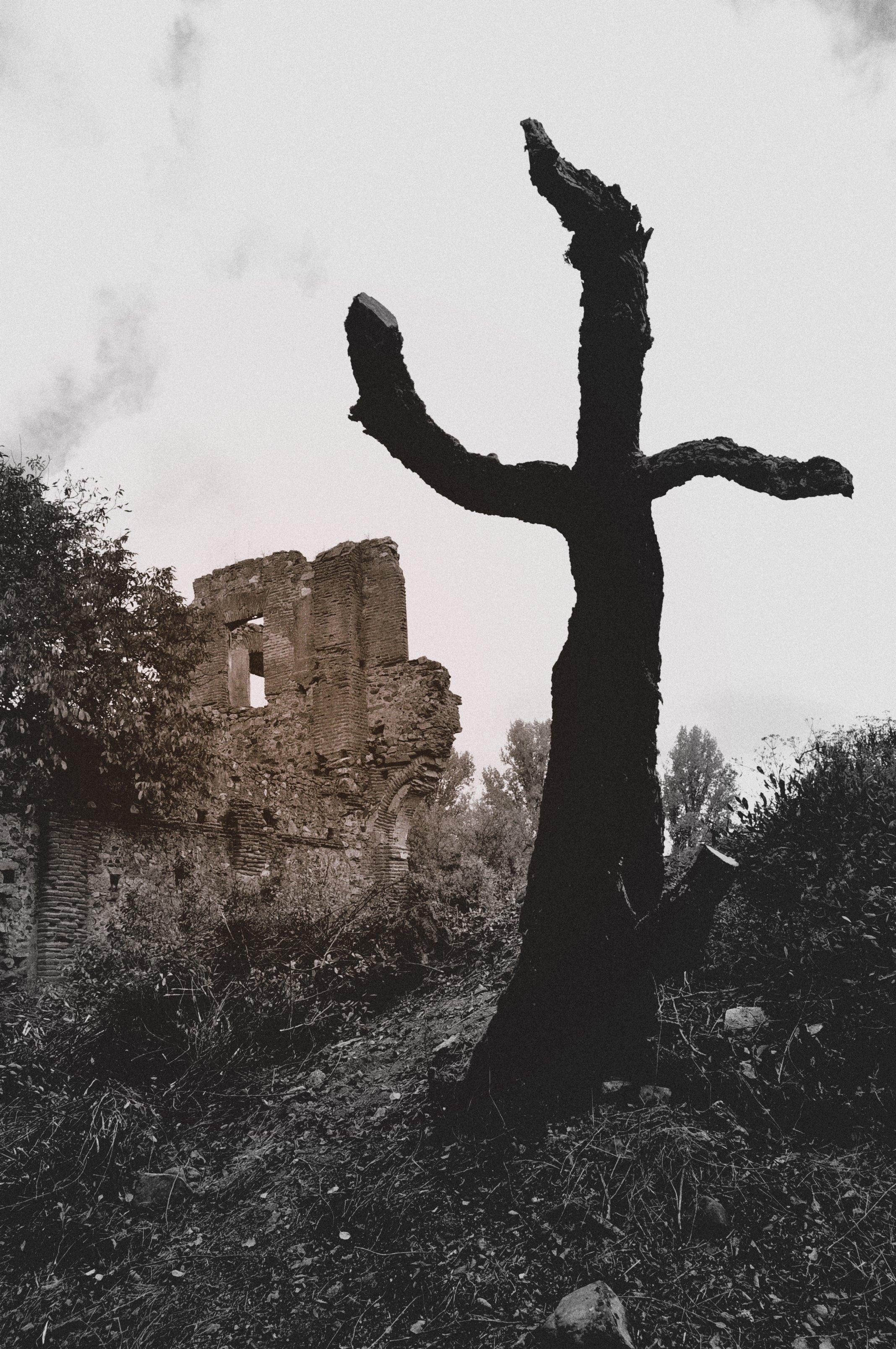 El fantasma de Nogales pretende escapar de las ruinas.