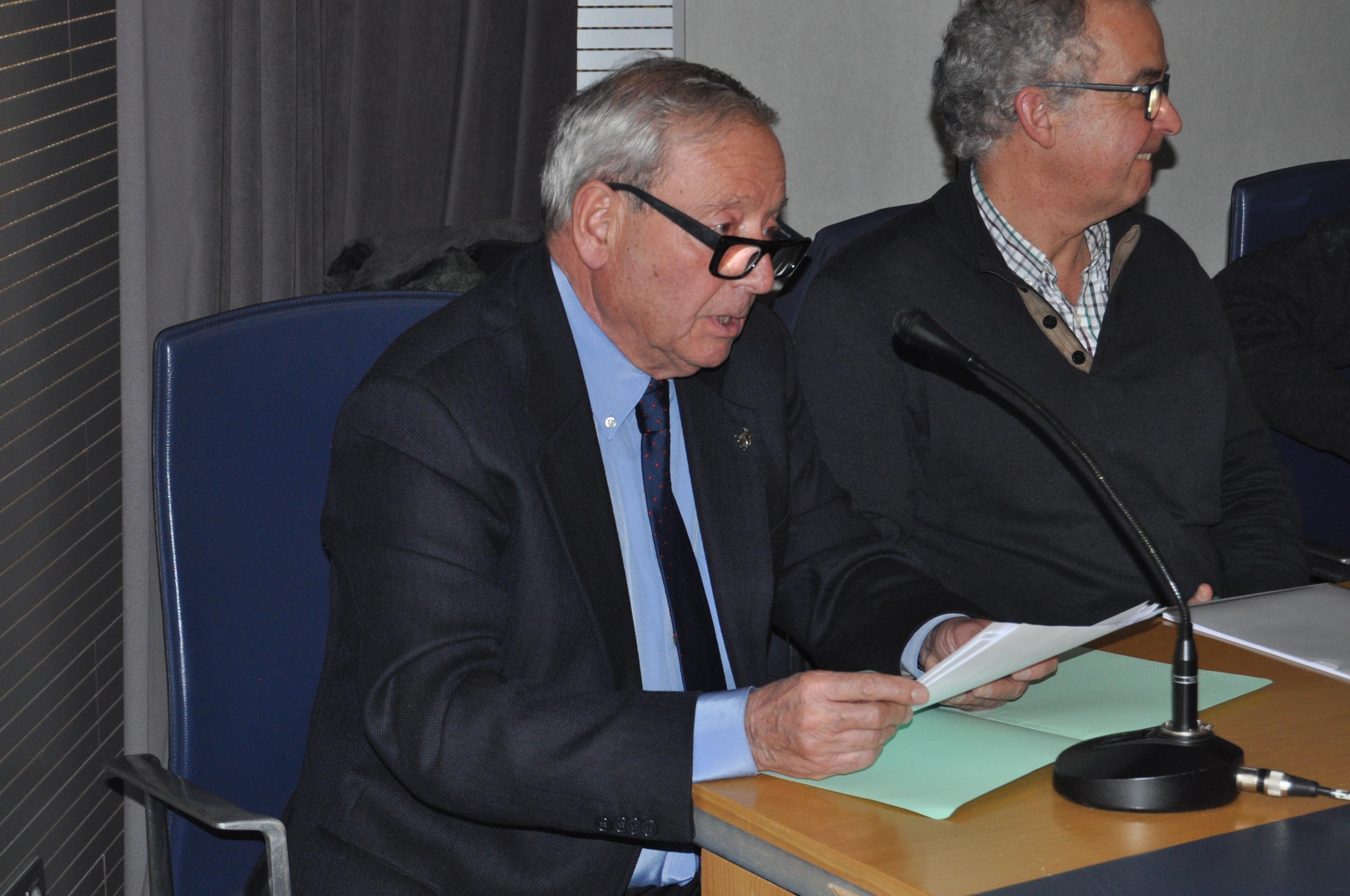 D. Marcelino Fernández hizo una síntesis de todas las actuaciones de Promonumenta.