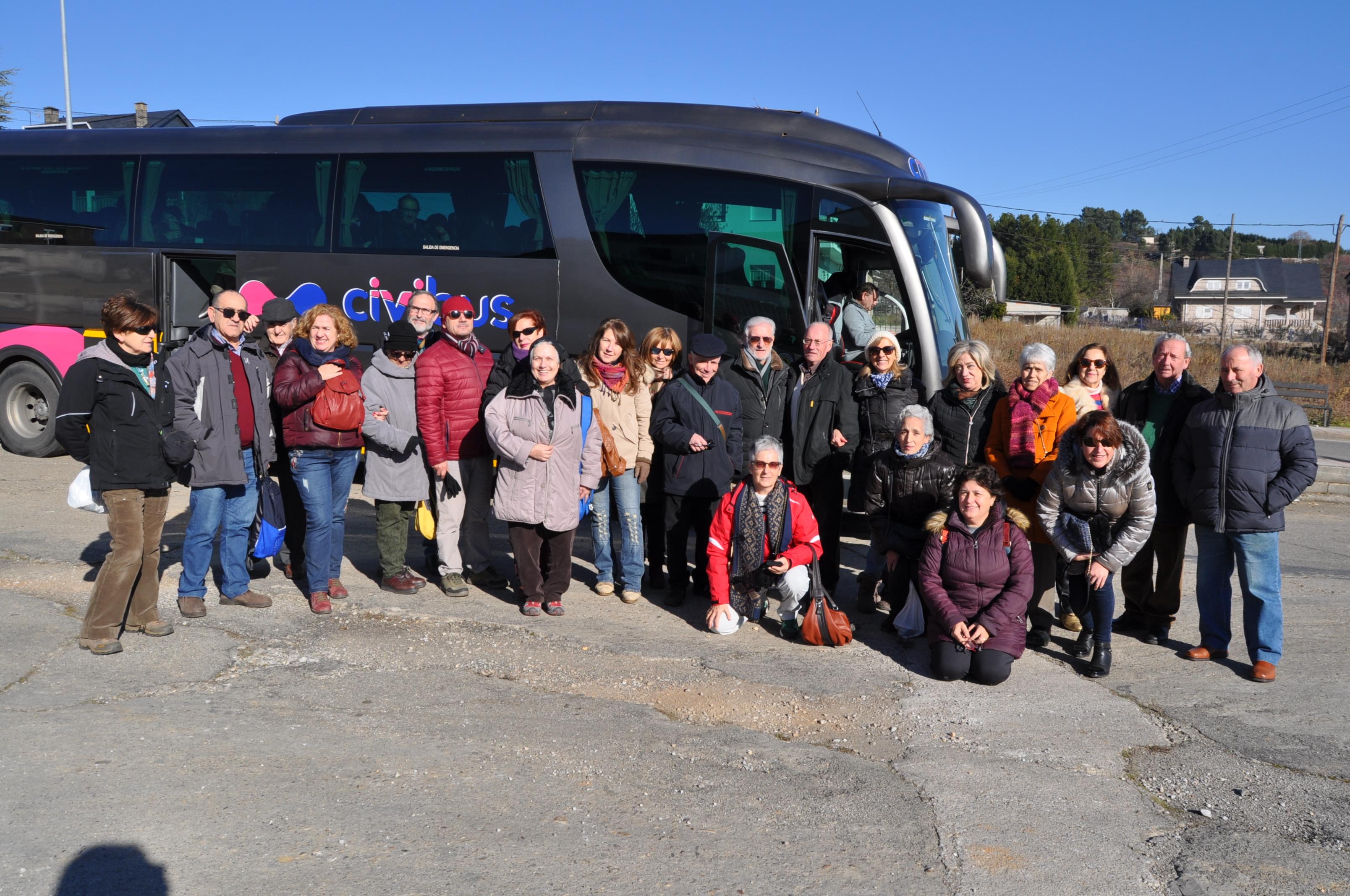 Grupo de Promonumenta en la visita a los nacimientos del Bierzo.