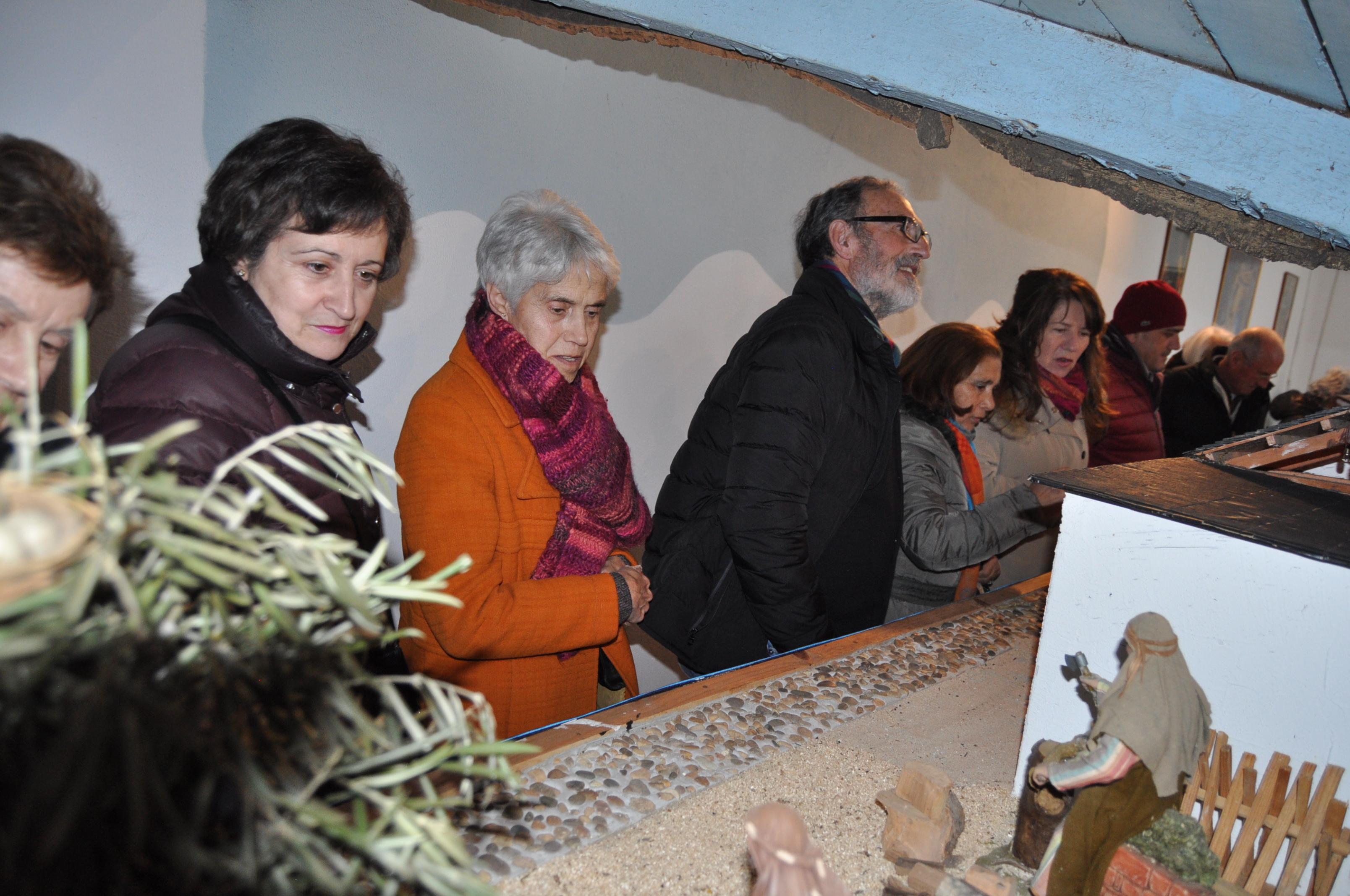 Visita al nacimiento de Villaverde de la Abadía.