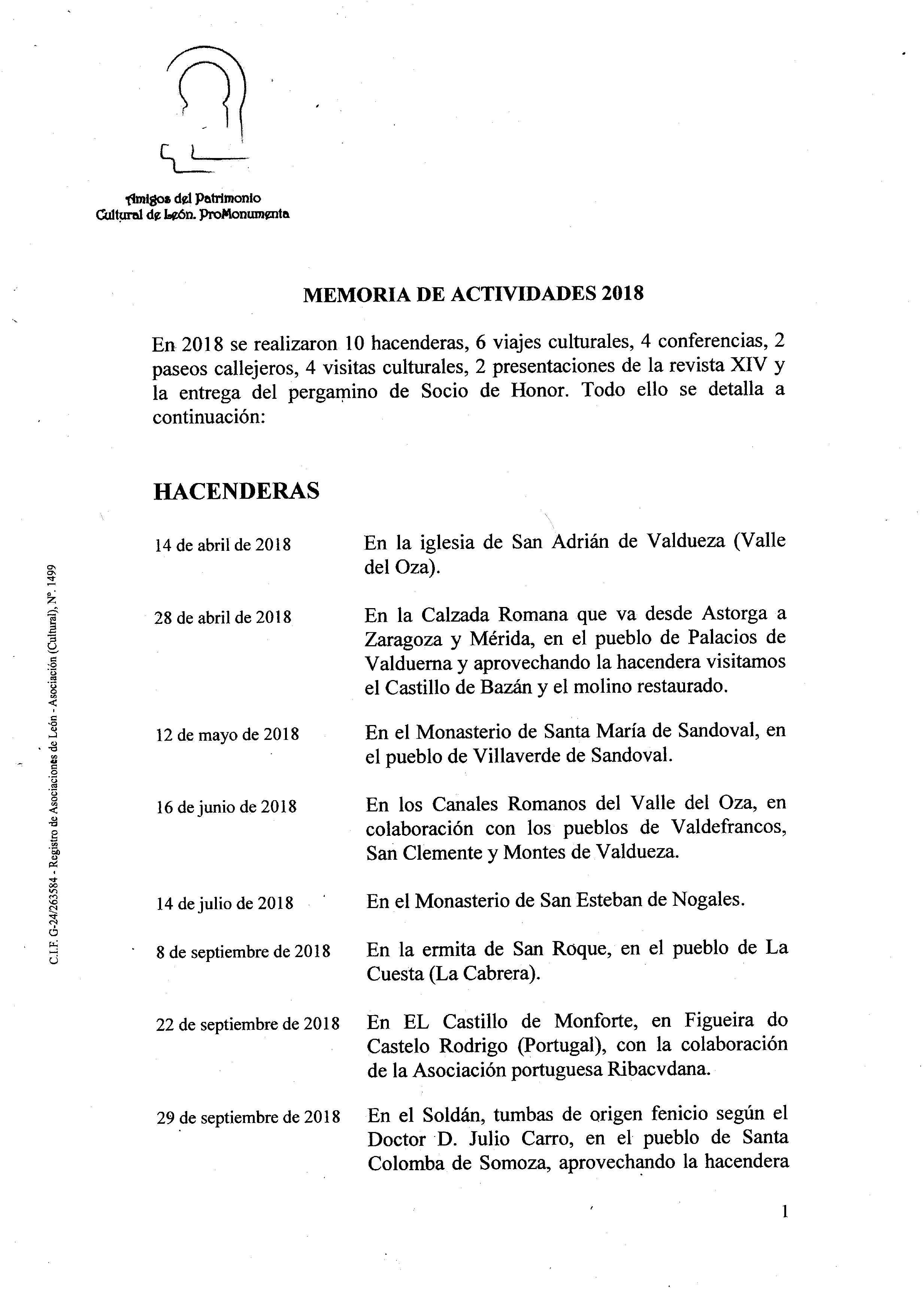 PROMONUMENTA ACTIVIDADES 2018001