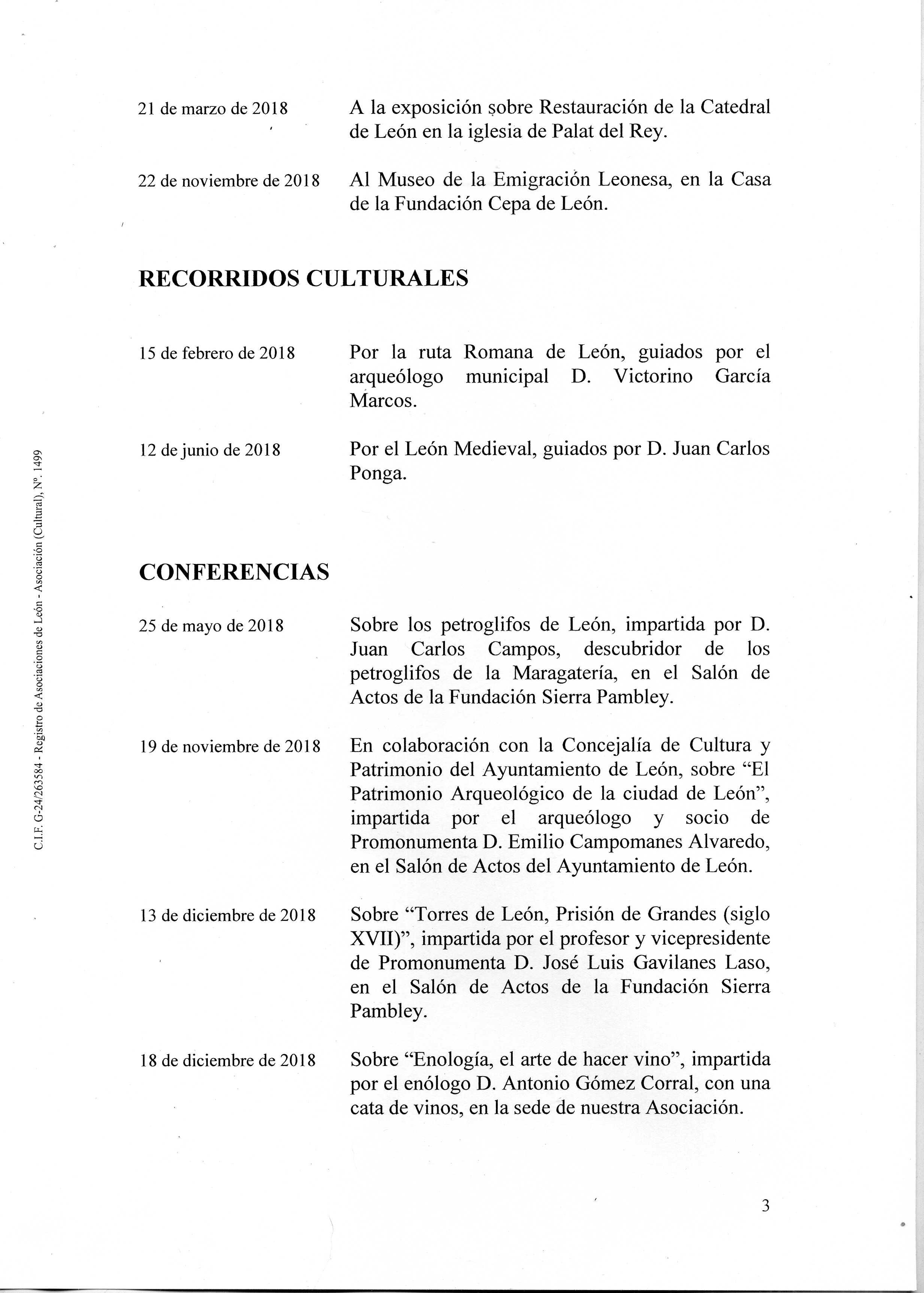 PROMONUMENTA ACTIVIDADES 2018003