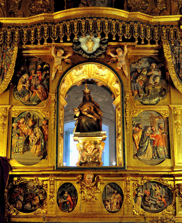 Retablo de la capilla de la Virgen Dolorosa. (foto David GL)