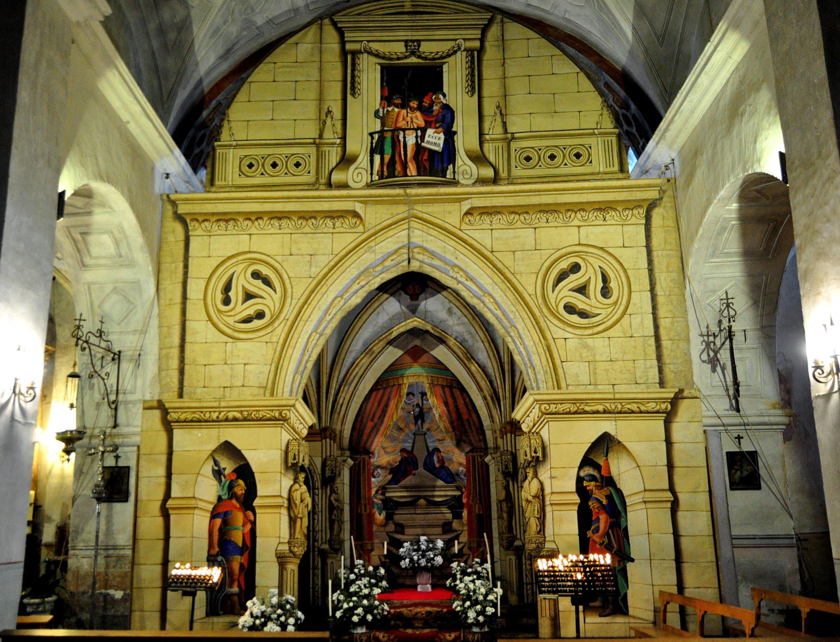 Villacé. Espectacular monumento de Semana Santa. (Foto David GL)