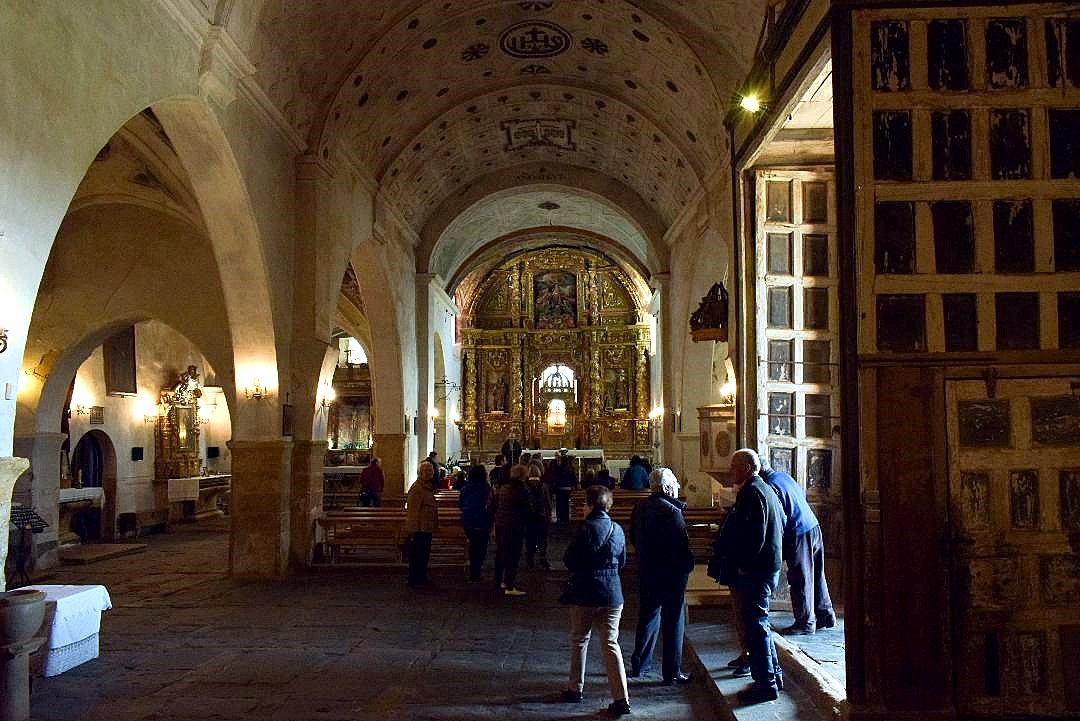 Nace central de la iglesia de Villacé. (Foto J. A.Gª Villas
