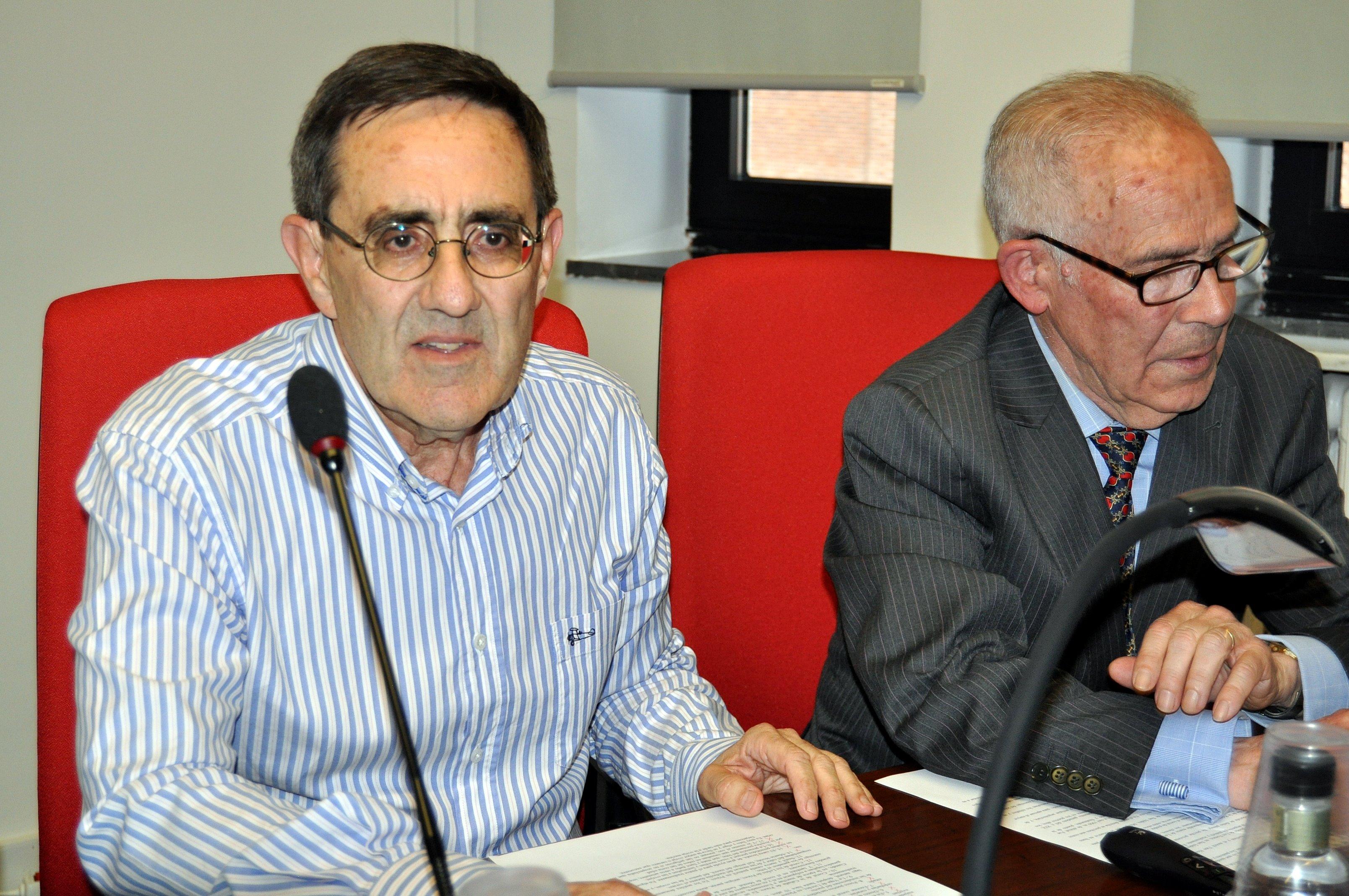 Manuel Rodríguez Pascual (izda.) y Ramón Gutiérrez