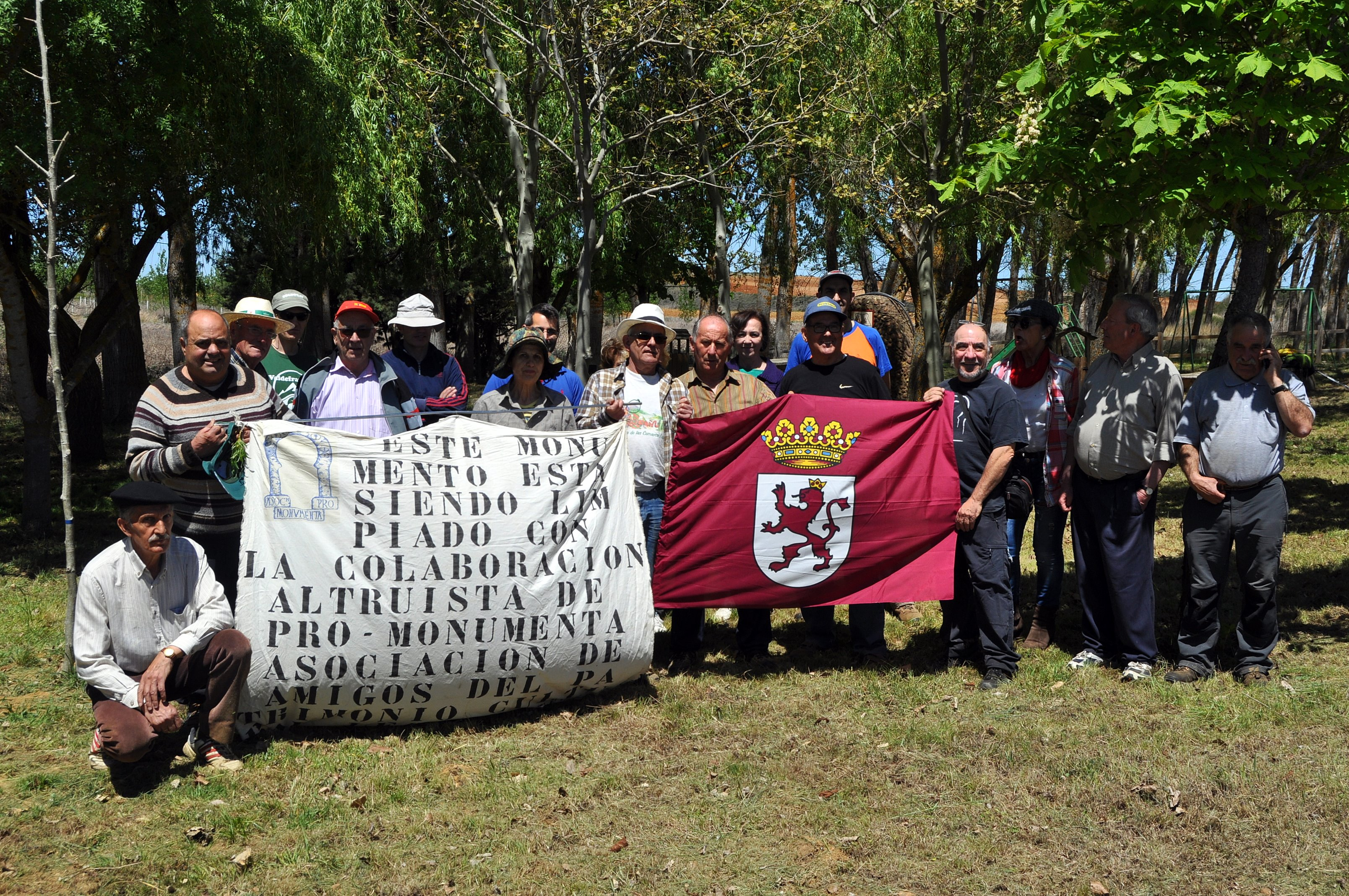El grupo de Promonumenta.