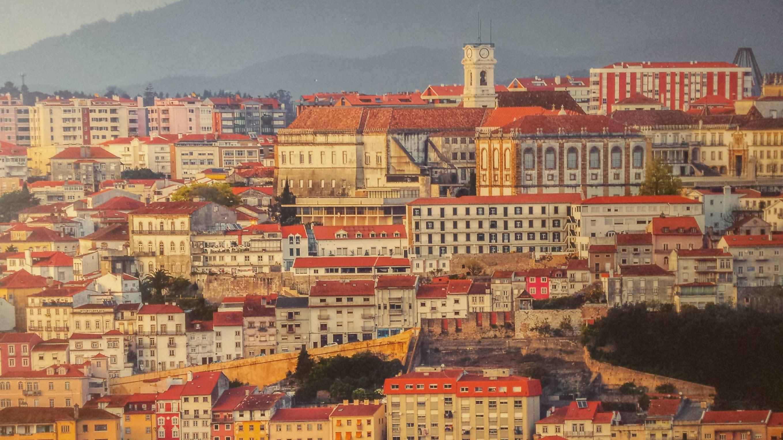 Vista parcial de Coimbra.