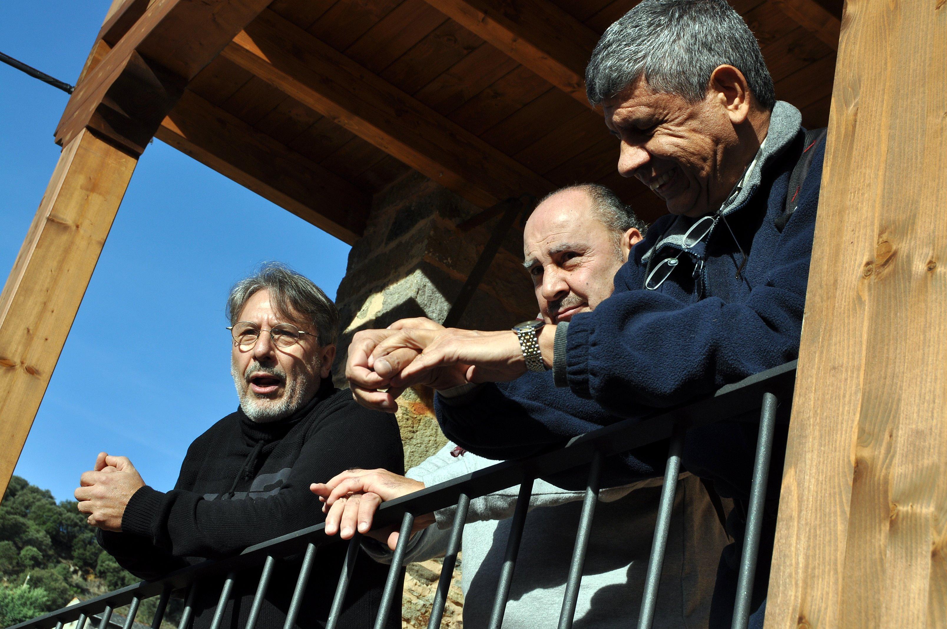 Melchor y Juan Carlos dirigen unas palabras de bienvenida a Promonumenta.