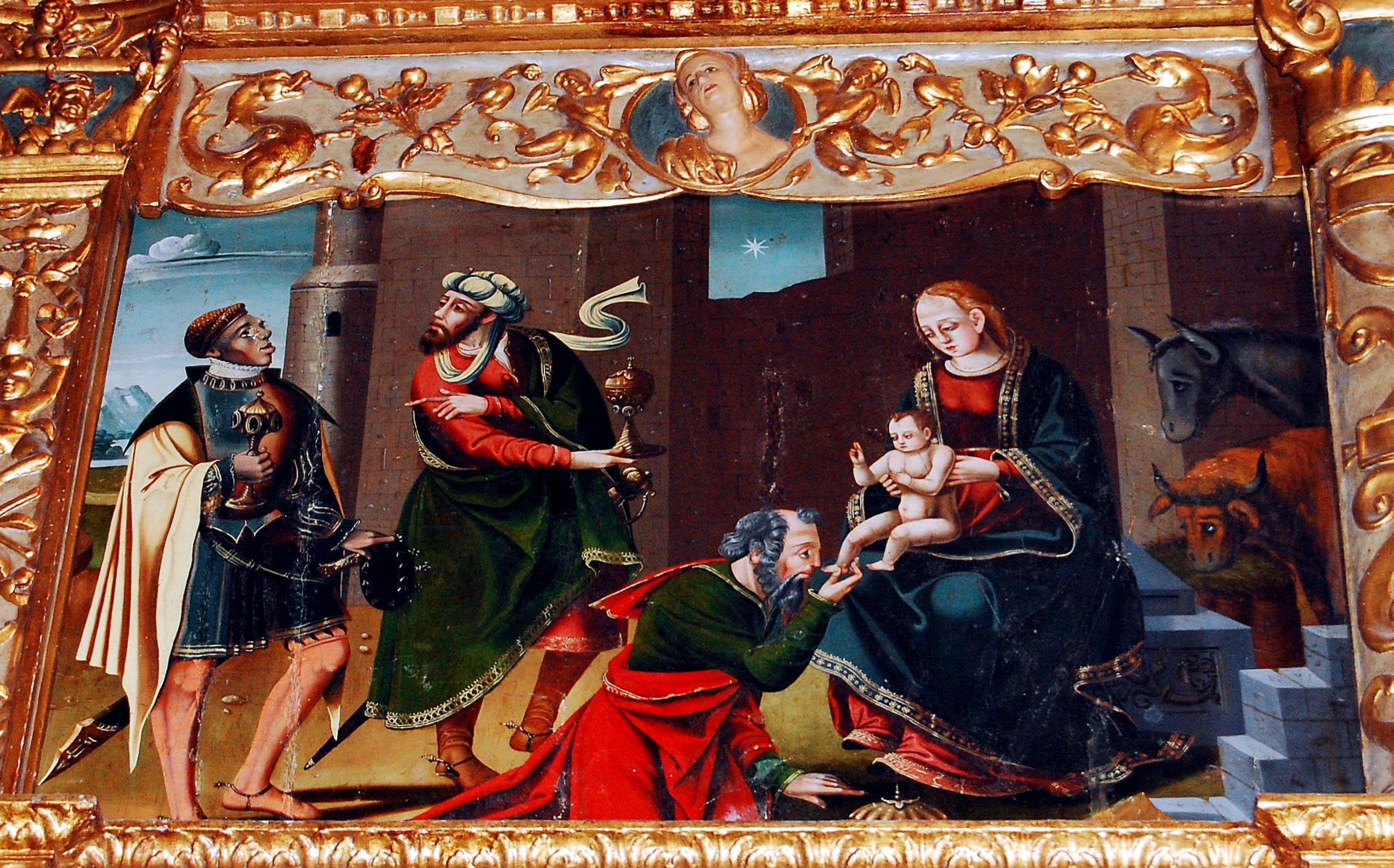 Cistierna. Adoración de los Reyes. (Foto David Gustavo López)