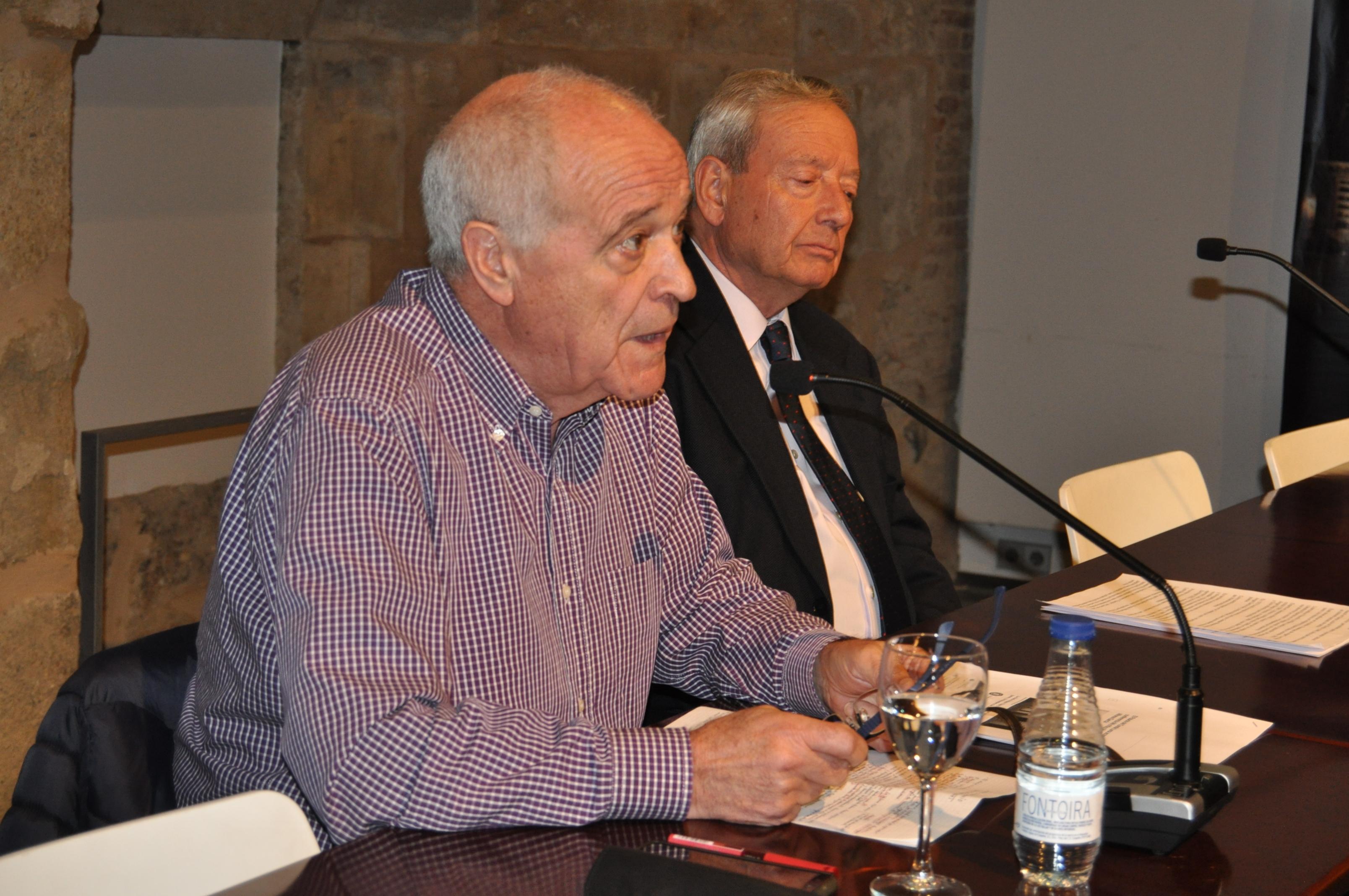 Alfonso García durante su intervención.
