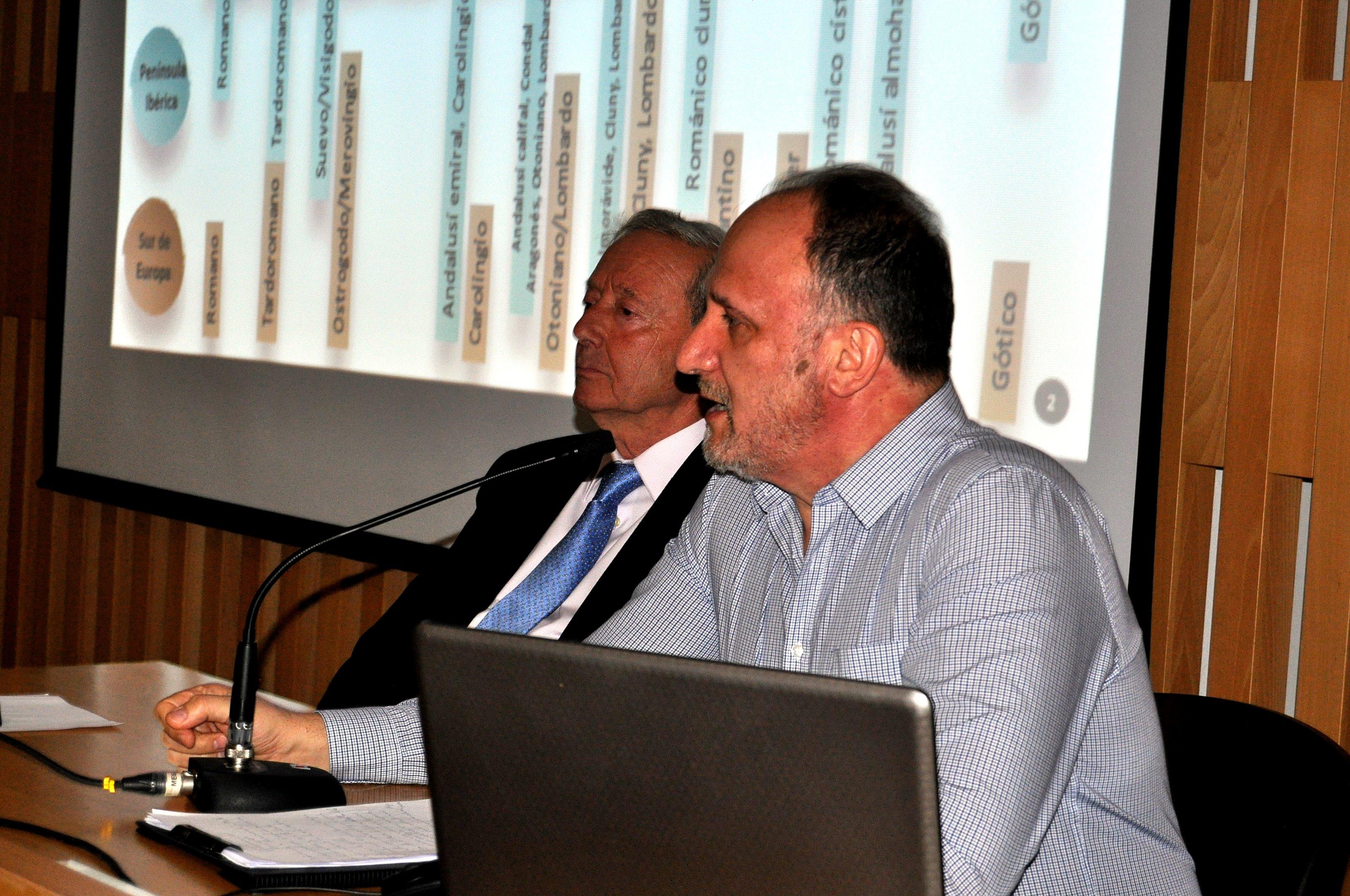 Javier Callado durante su intervención.