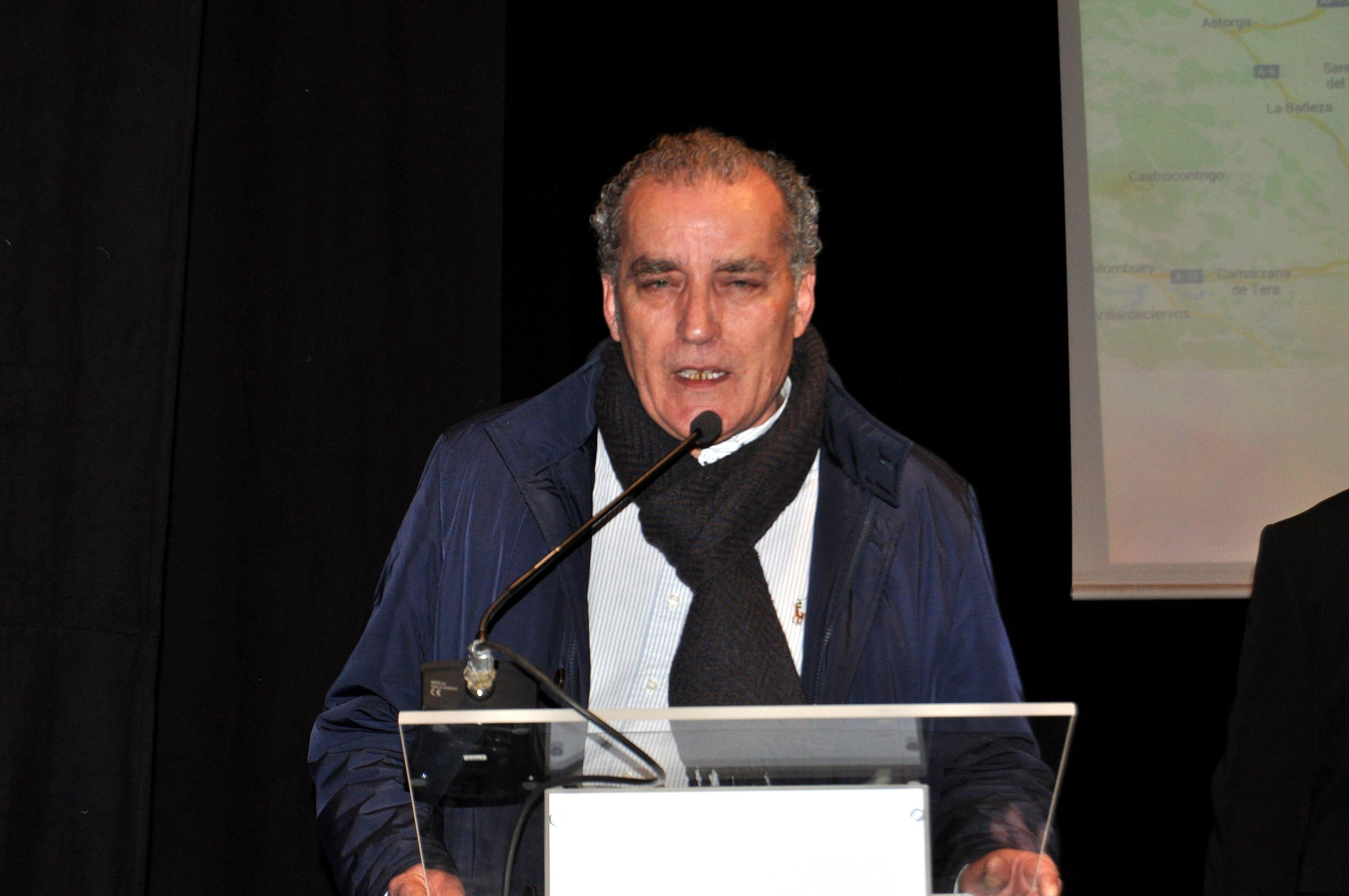 El presidente de la Asociación Balle de Scapa.