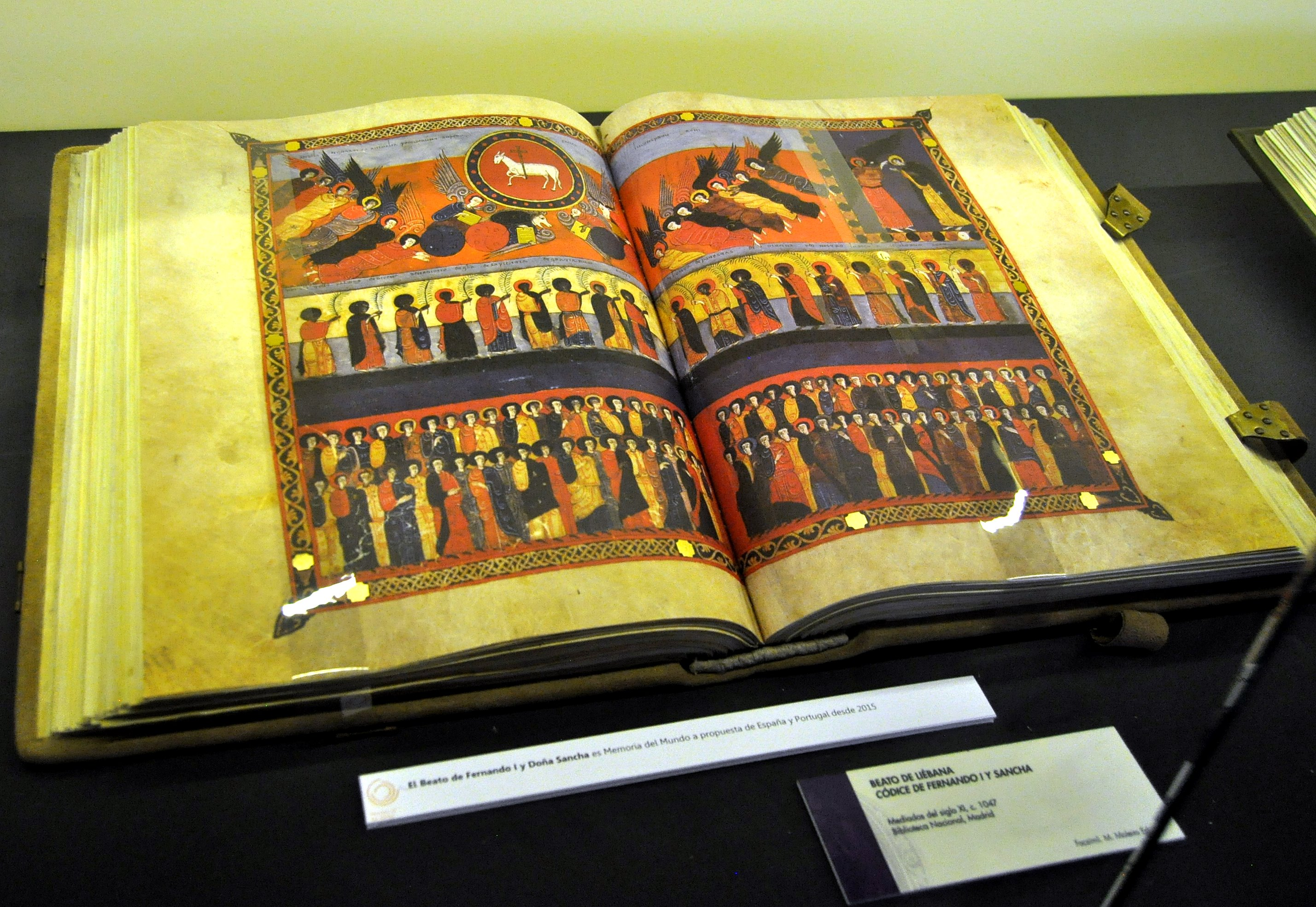 Beato de Liébana. Códice de Fernando y Sancha (S. XI). Facsimil del Templum Libri