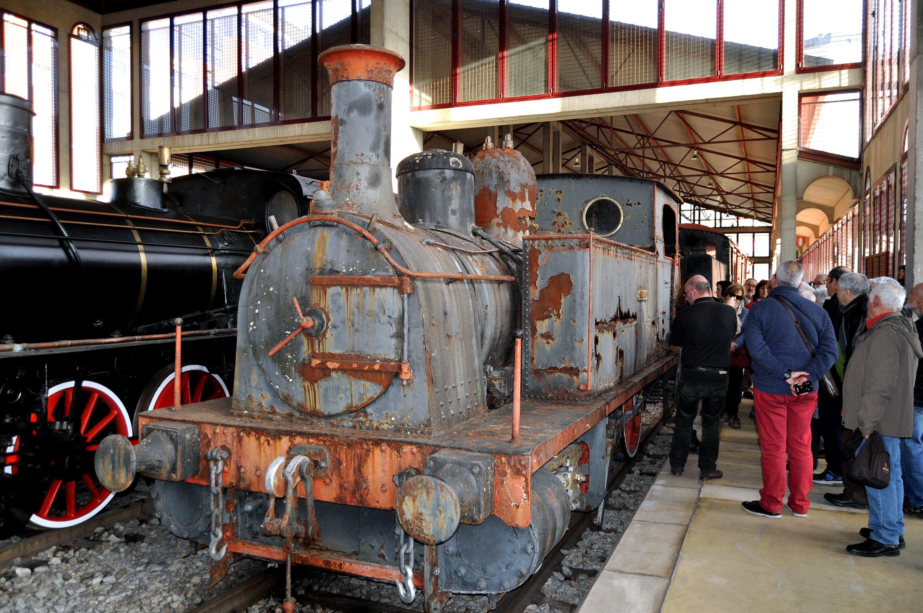 La última incorporación al Museo. Máquina del Ponfeblino de 1920.