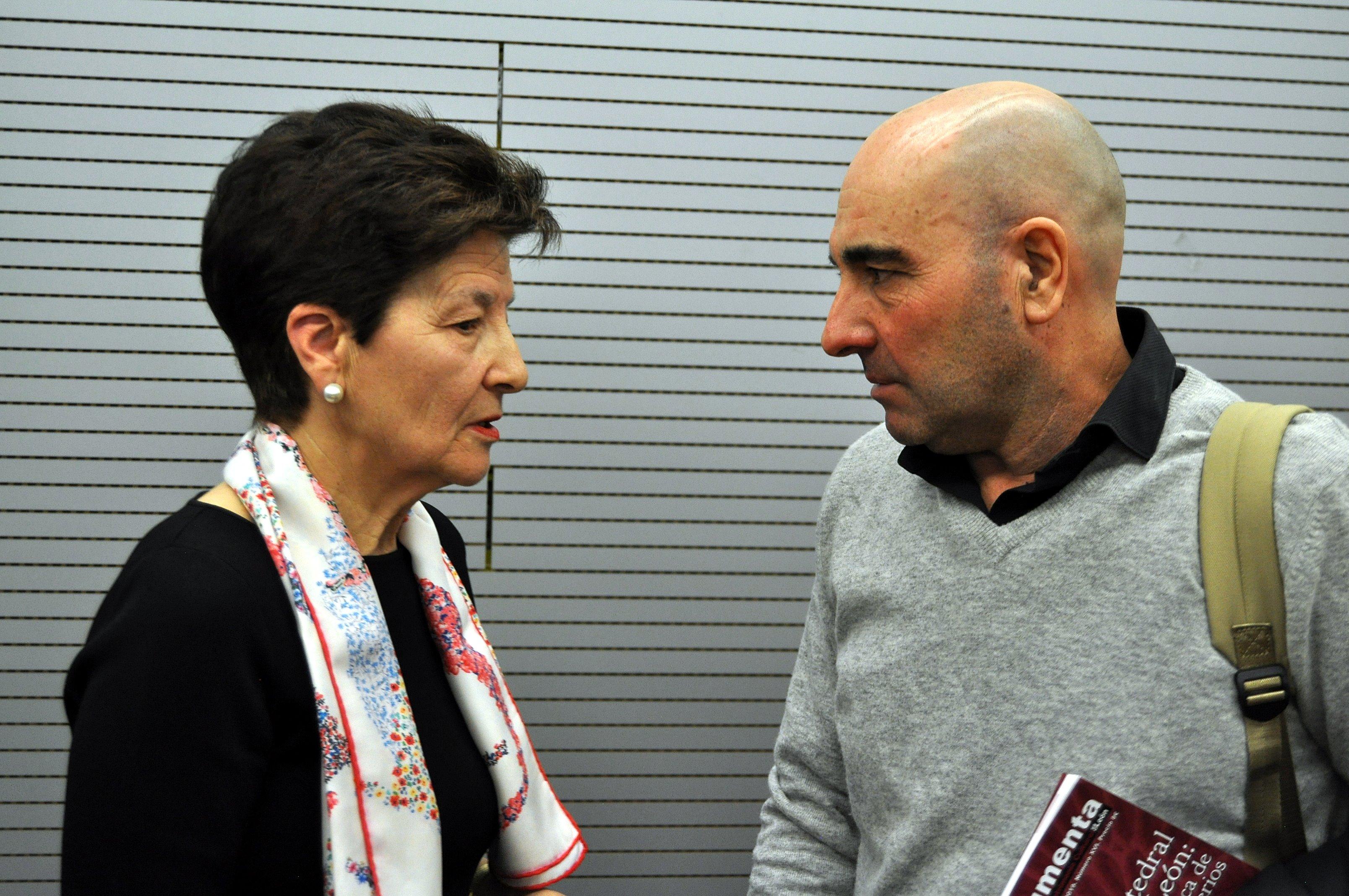 Gregoria Cavero y Javier Caballero Chica.