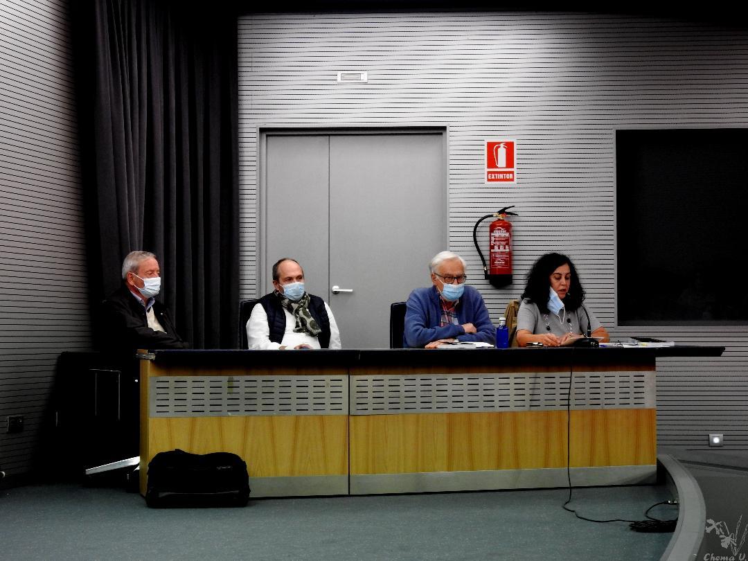 De izda a dcha. Marcelino Fernández, Joaquín Aledre, David Gustavo López, Marta Prieto